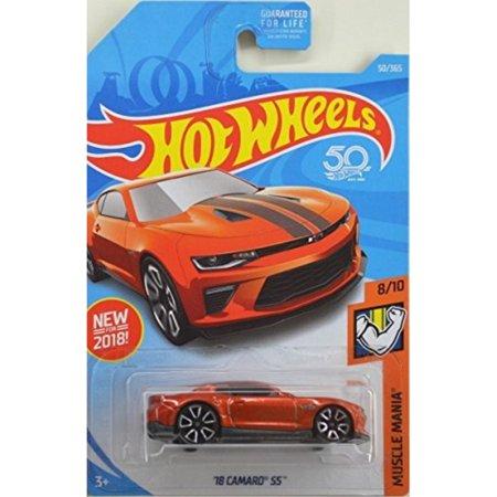 hot wheels 2018 50th anniversary muscle mania '18 camaro ss 50/365,