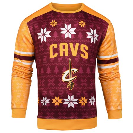 6f644e52b14 Forever Collectibles NBA Men s Cleveland Cavaliers Printed Ugly ...