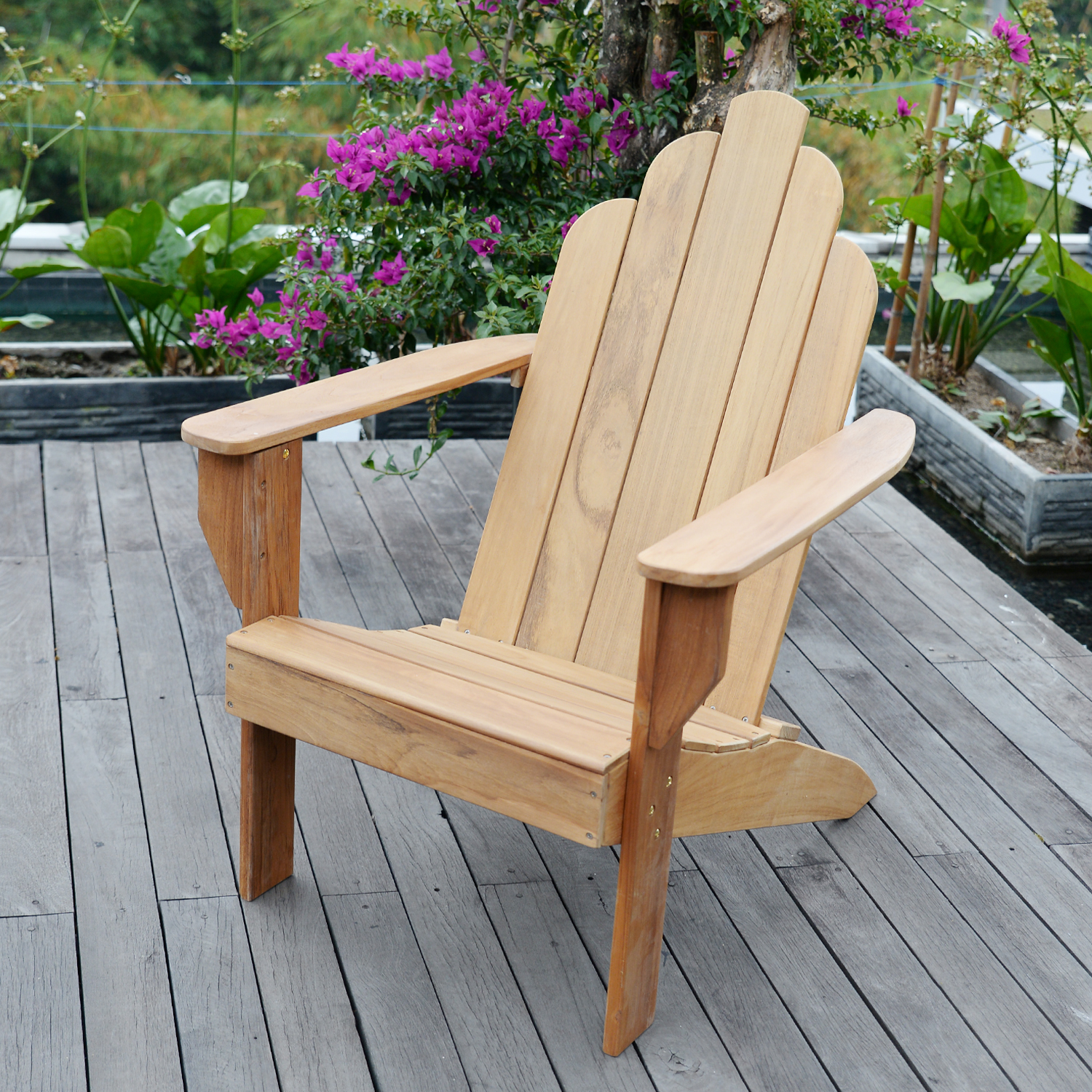 Willem Teak Adirondack Chair by PT. INTERNATIONAL FURNITURE INDUSTRIES