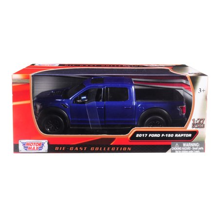 2017 Ford F-150 Raptor Pickup Truck Blue with Black Wheels 1/27 Diecast Model Car by (Toys R Us 2017 Black Friday Ad)