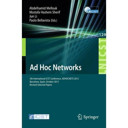 Ad Hoc Networks - eBook