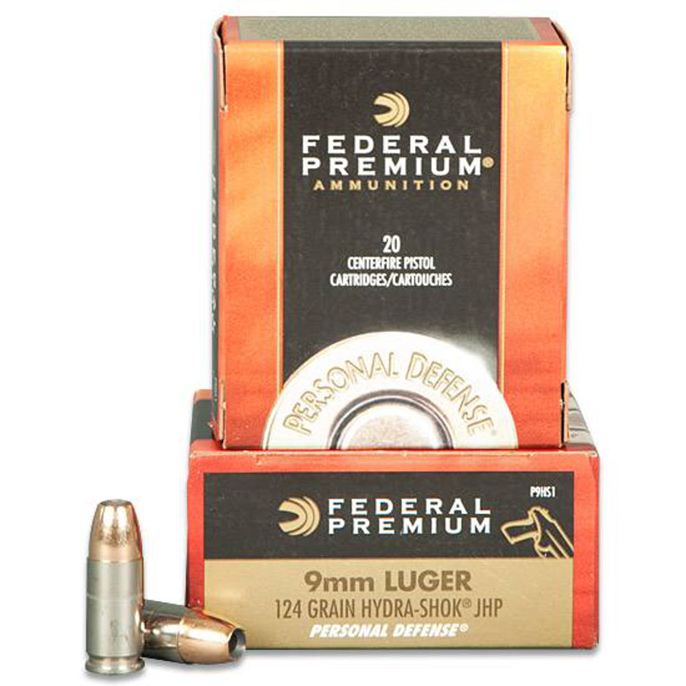 15347 Federal Cartridge 9mm Luger