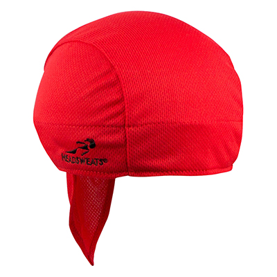 Headsweats Red Stitching Shorty Lightweight Performance Sports Hat Beanie