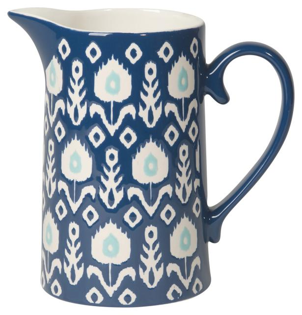 Now Designs Flower Ikat Pitcher 5019 024