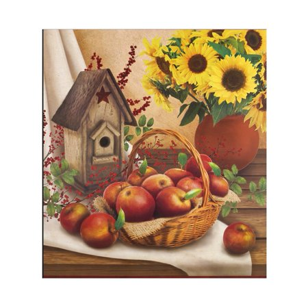 Country Apple Dishwasher Magnet Kitchen Décor to Give a Custom Decorator Look, Multi