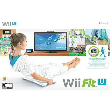 Wii Fit U w/ Balance Board & Fit Meter, Nintendo, Nintendo Wii U, 045496903107