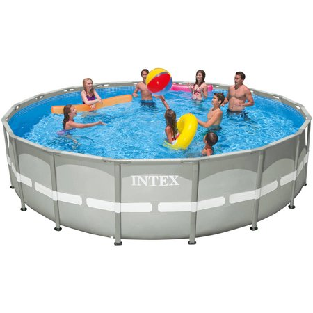 Intex 18 39 x 48 ultra frame above ground swimming pool - Walmart above ground swimming pools ...