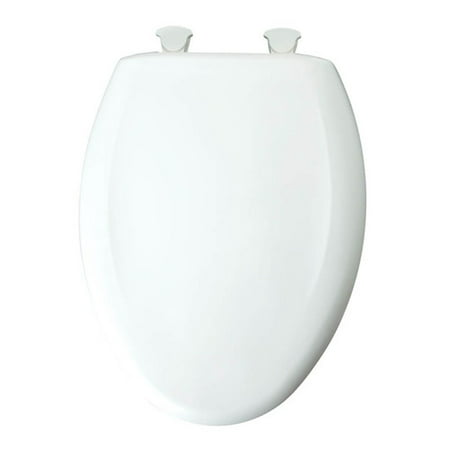 Bemis 200SLOWT Lift-Off Plastic Round Slow-Close Toilet Seat, Available in Various -