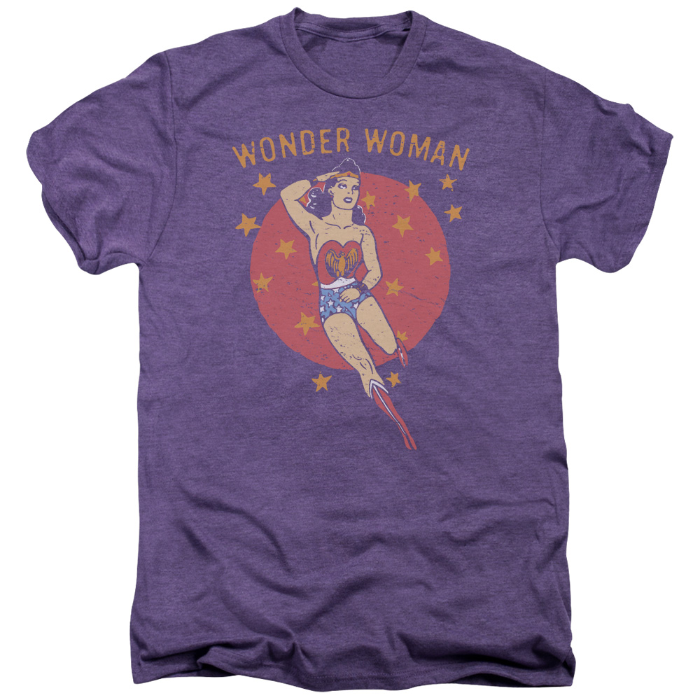 DC Comics Wonder Circle Mens Premium Tee Shirt