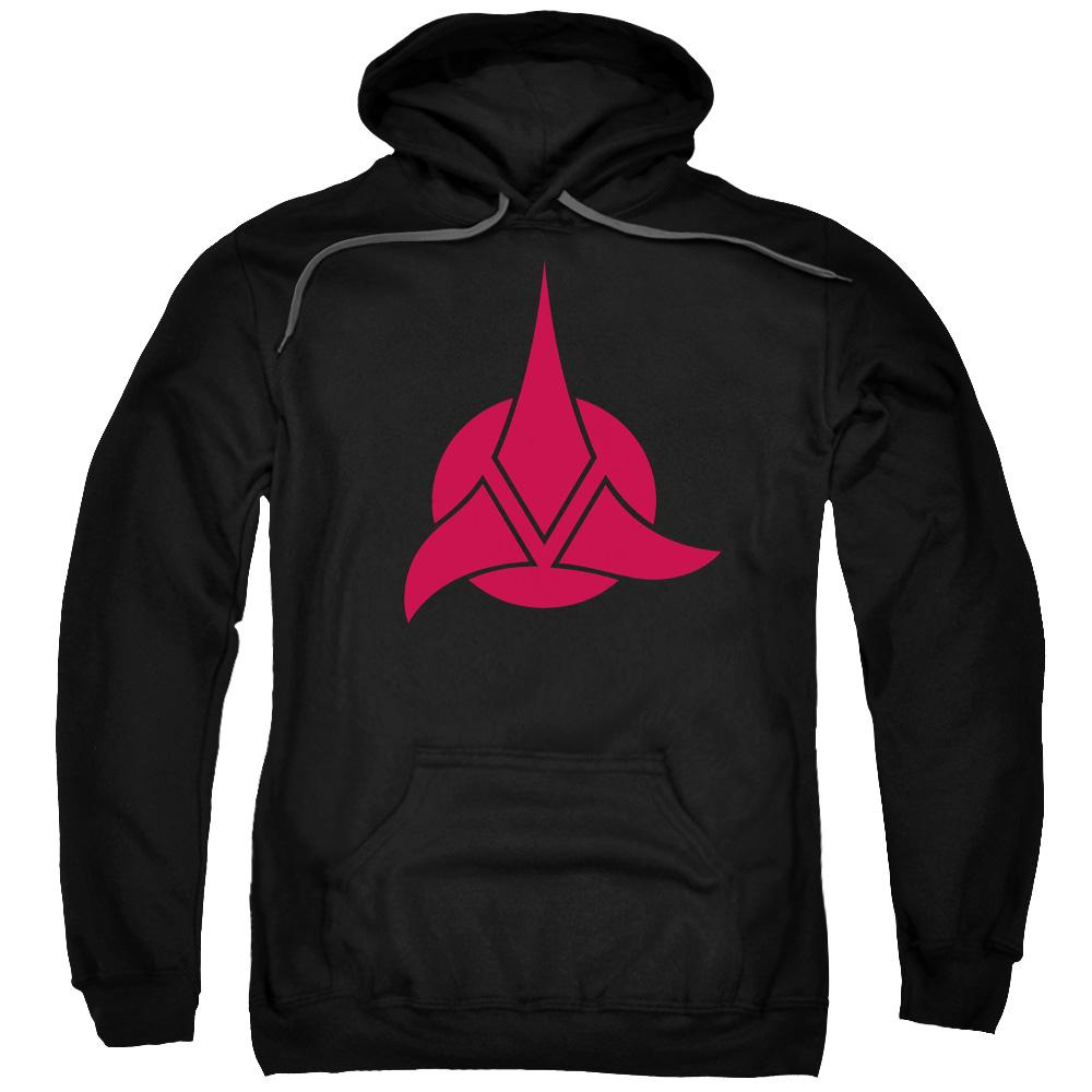 Star Trek/Klingon Logo Mens Pullover Hoodie