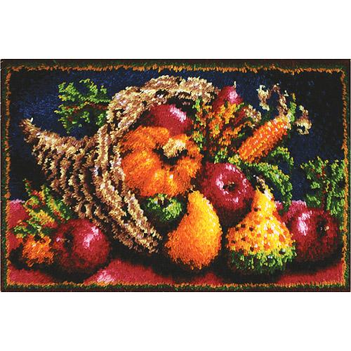 Caron Classics Latch Hook Kit, Country Harvest