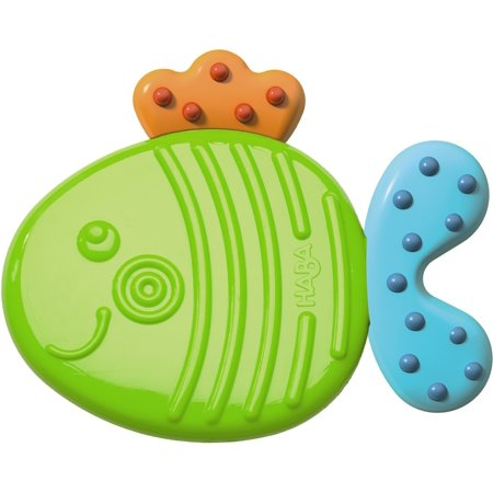 HABA Clutching Toy Fish Silicone Teether