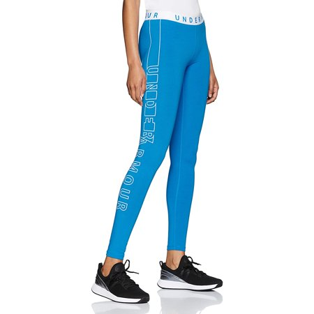 Under Armour Womens Favorite Graphic Legging, Blue Circuit (436)/White, X-Small