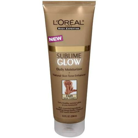 L'oreal Paris: Sublime Glow Plus Natural Skin Tone Enhancer For Fair Skin Tones Moisturizer, 8 fl oz