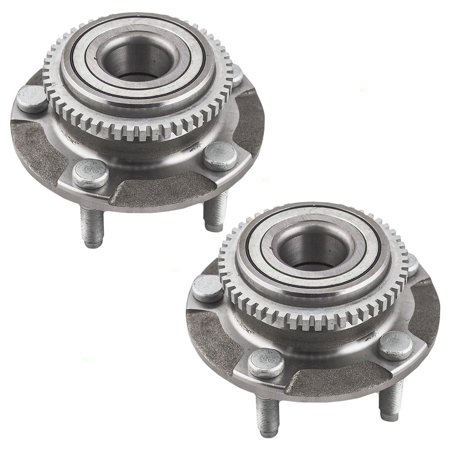 - Pair of Front Wheel Hub Bearings Replacement for Ford 1R3Z1104AA