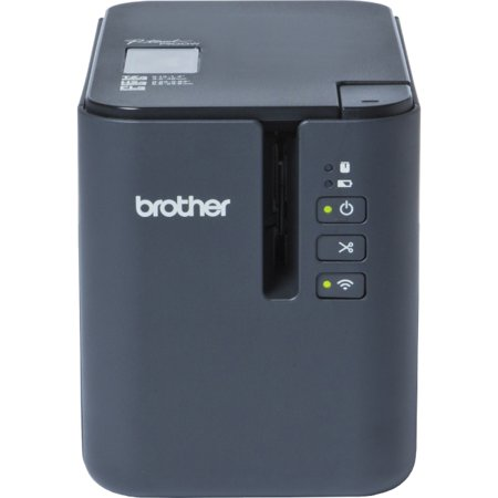 Brother P-touch PT-P900W Thermal Transfer Printer - Monochrome - Desktop - Tape Print - 26.25 ft Print Length - 1.42