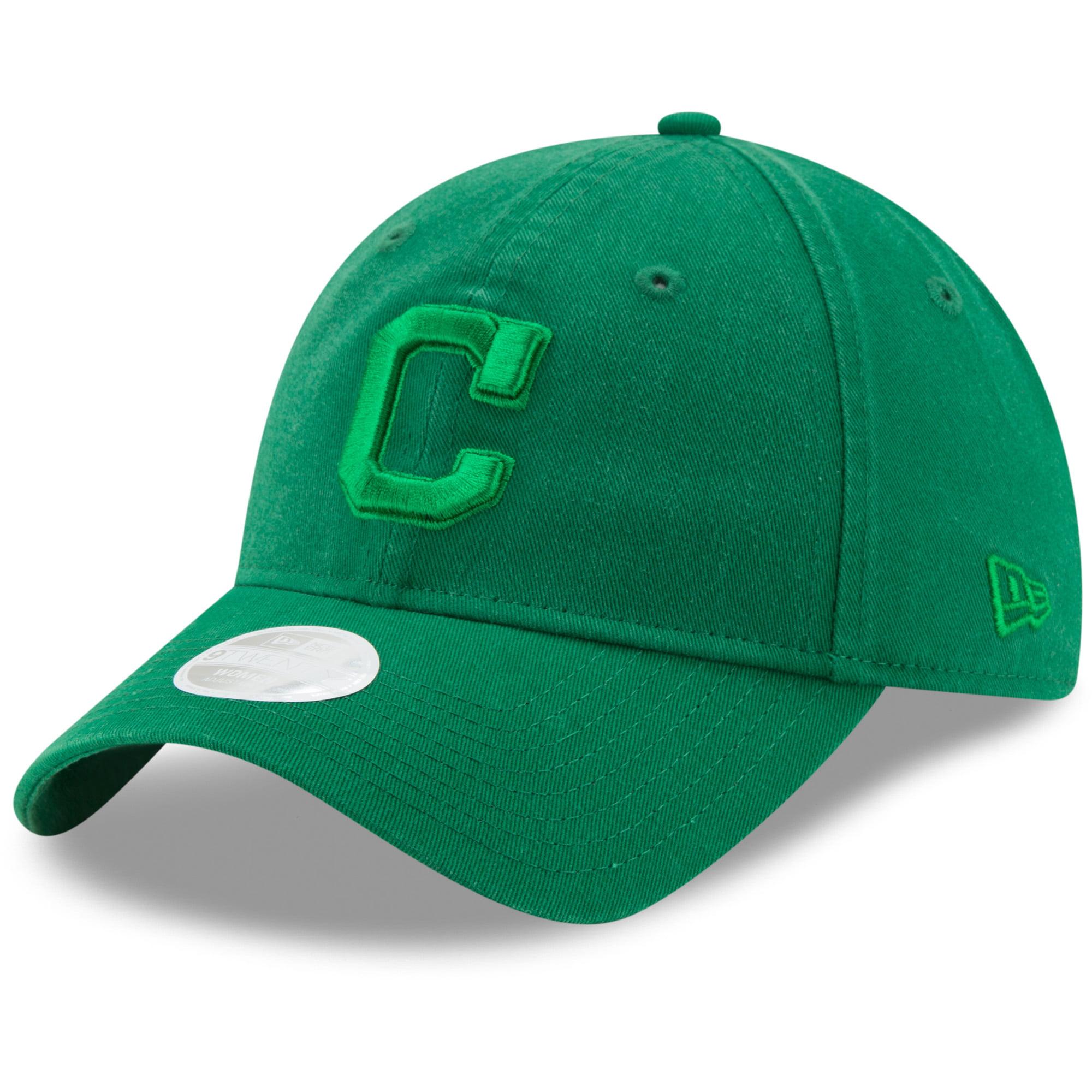 Cleveland Indians New Era Women's St. Patrick's Day Core Classic 9TWENTY Adjustable Hat - Green - OSFA