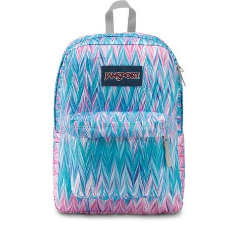 JanSport Superbreak Backpack (Painted Chevron)