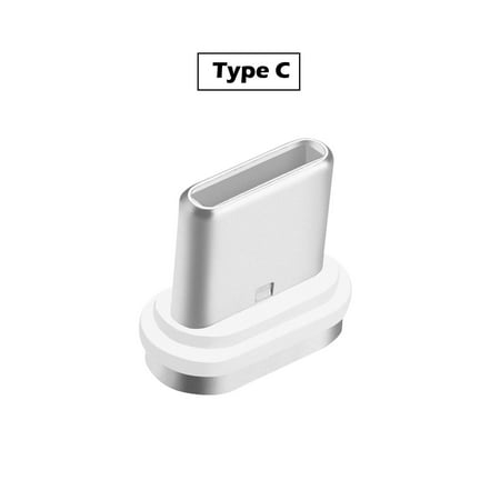 AGPTEK 3.0A Magnetic Type C Android Interface Fast Charging Charger Data Sync Cable (Best Magnetic Charger For Android)