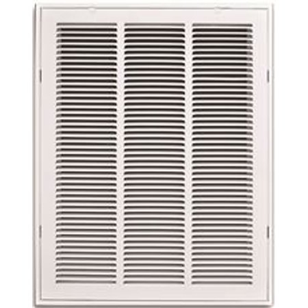 Truaire Stamped Return Air Filter Grille Removable Face