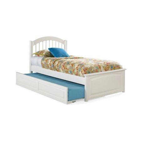 Atlantic Furniture Windsor Platform Bed in White