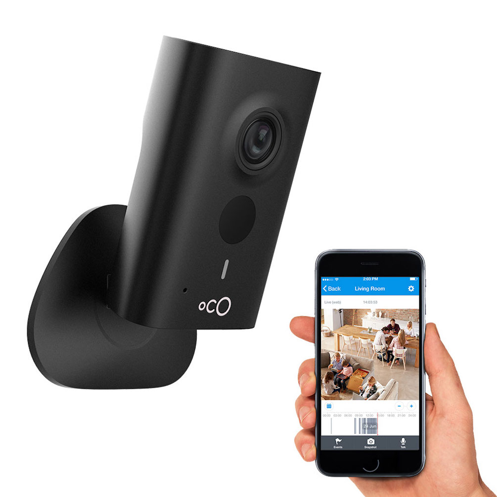 Oco HD Cloud Security Video Monitoring Camera with SD card and Cloud Storage