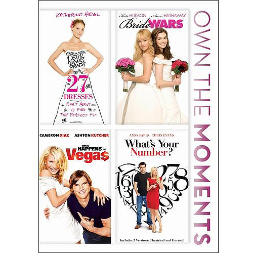 27 Dresses / Bride Wars / What Happens In Vegas / What's Your Number? (Widescreen)