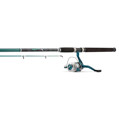 - Hurricane Mako 8' 2-Piece Rod and Spinning 12-30 Size 55 Reel Combo