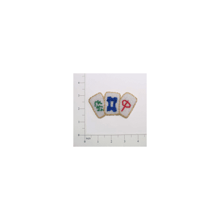 Expo Int'l Chinese Game Beaded (Chinese Needlepoint)