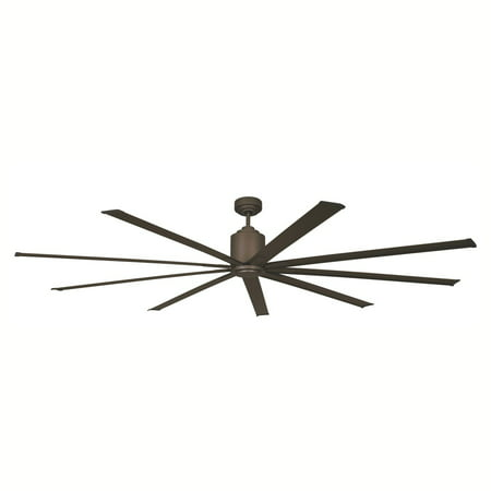 """Big Air 96"""" Wet Location Industrial Ceiling Fan in Oil-Rubbed Bronze"""