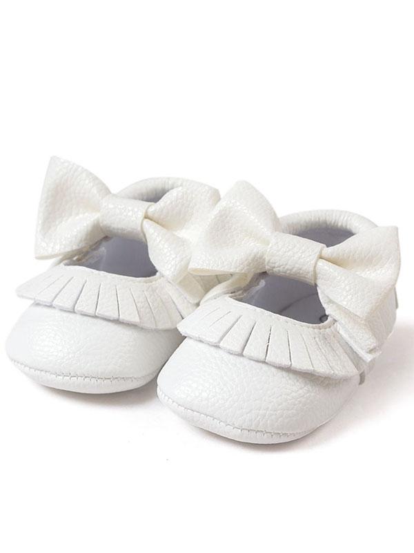 White Baby Shoes - Walmart.com