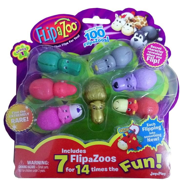Flipazoo World Véhicule /& Mini Figure Sets Bundle