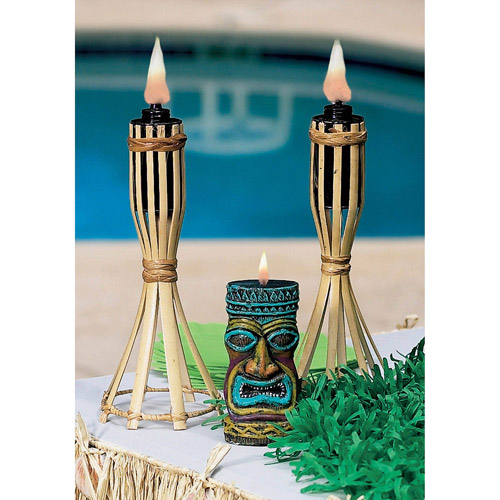 Tabletop Tiki Lights, Set of 2