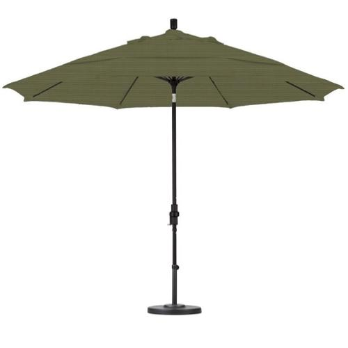 California Umbrella 11' Market Patio Umbrella in Terrace Fern