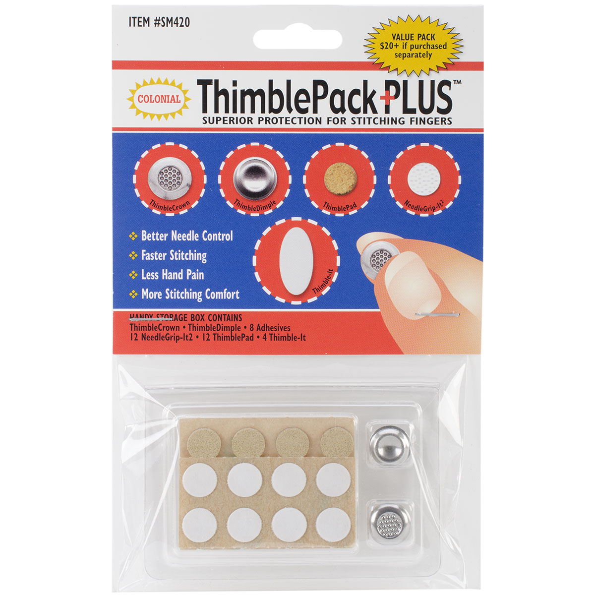 Colonial ThimblePack Plus-