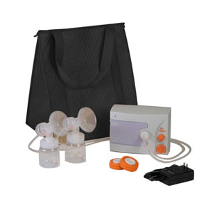 Hygeia Q Breast Pump with Basic Tote, PAS Personal Accessory Set [Sold by the Each, Quantity per Each : 1 EA,... by Hygeia Ii Medical Group Inc.