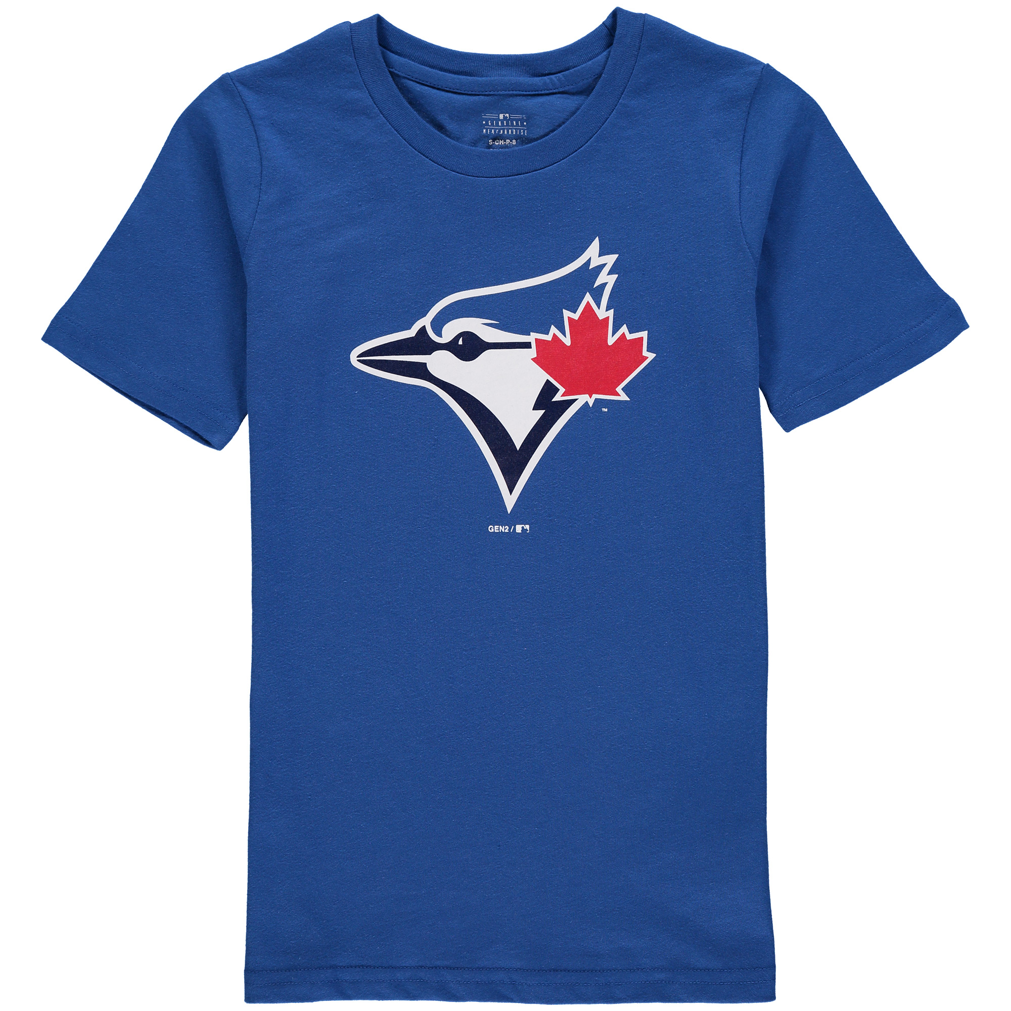 Toronto Blue Jays Youth Primary Logo T-Shirt - Royal