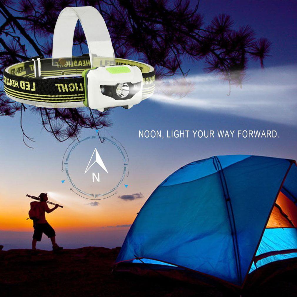LESHP 1200 Lumen R3+2LED 4 Models Super Bright Headlamp Headlight Flashlight Torch - image 2 of 6