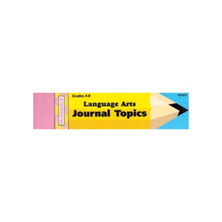 Mcdonald Publishing Journal Language Arts 4 8 Book