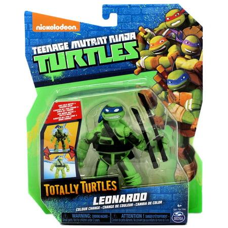 Teenage Mutant Ninja Turtles Totally Turtles Leonardo Action Figure [Color Change]](Leonardo The Ninja Turtle)