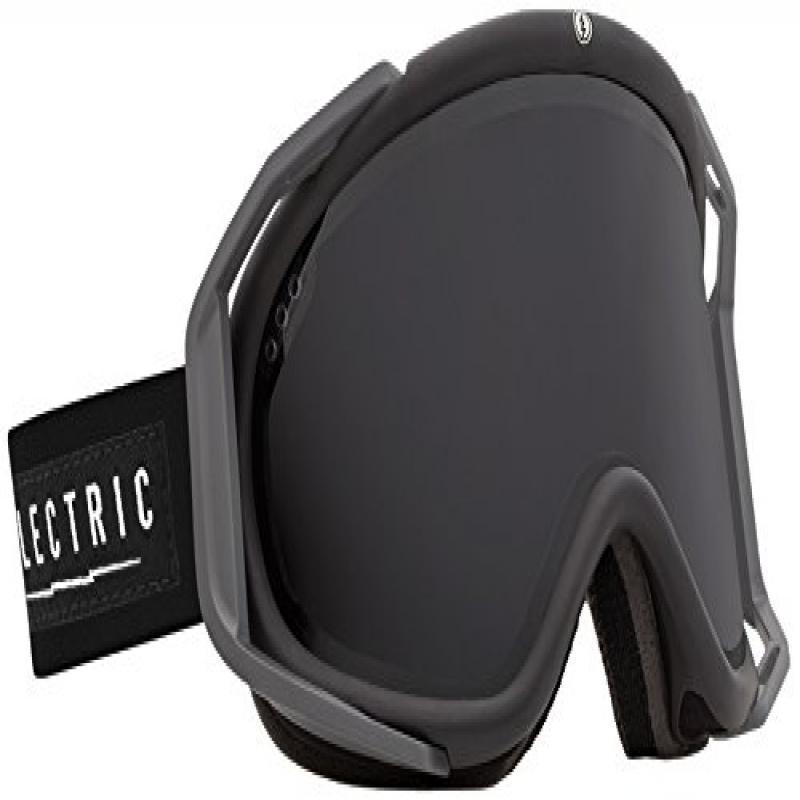 Electric RIG Ski Goggles, Black Tropic, Jet Black by