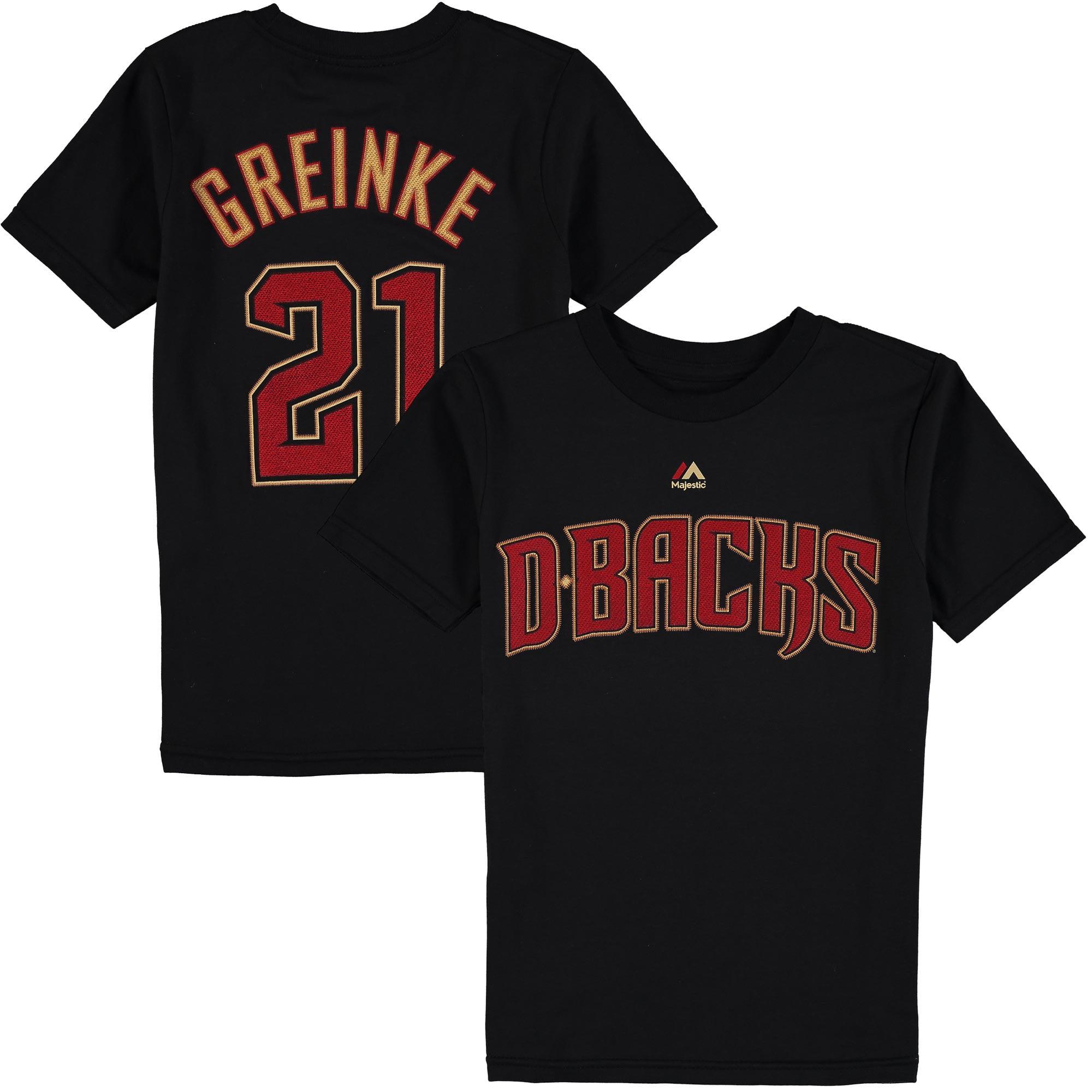 Arizona Diamondbacks Majestic Youth Player Name & Number T-Shirt - Black