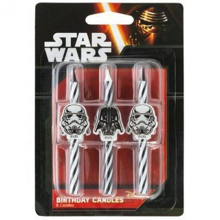 Star Wars Icon Birthday Cake Candles - 6 pc](Star Wars Candles)