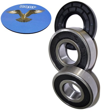HQRP Bearing and Seal Kit for Frigidaire FTF530ES1 FTF530FS0 FTF530FS1 FTF530FS2 FTF530FS3 FTF530FS4 Front Load Washing Machine Washer Tub + HQRP