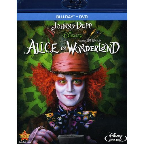 Alice In Wonderland (2010) (Blu-ray + DVD) (Widescreen)