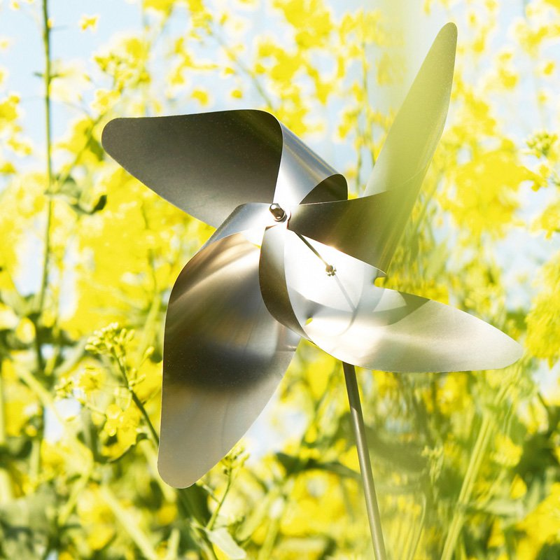 Viento Stainless Steel Traditional Pinwheel