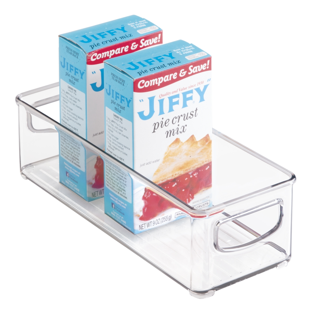 InterDesign Open Top Kitchen Organizer Bin for Pantry & Fridge