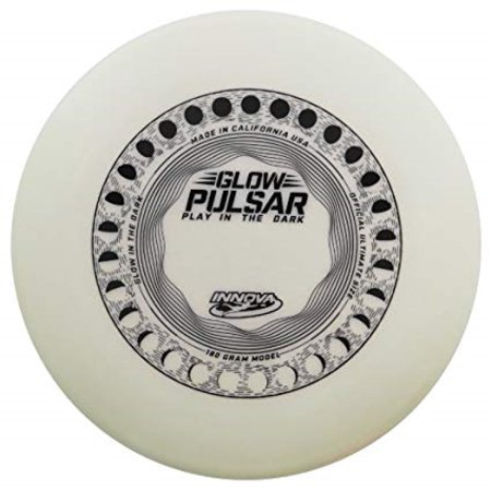 Innova Pulsar Frisbee Disc - 180 Gram - Major League Ultimate Championship Flying Sport Disc (Glow in the