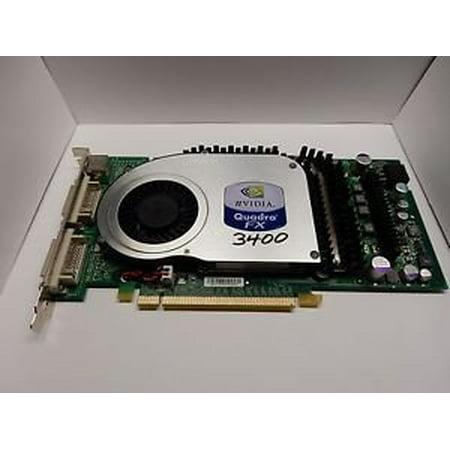 256 Mb Graphics - HP 365891-001 359891-001 HP NVIDIA HIGH-END 3D PCI-E FX 3400 256MB GRAPHICS