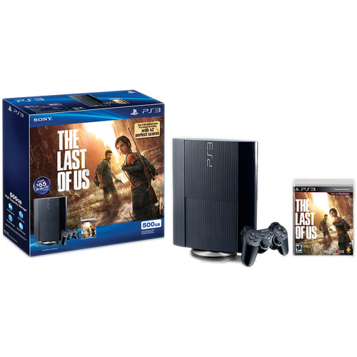 Sony PS3 Playstation 3 500GB The Last of Us Bundle